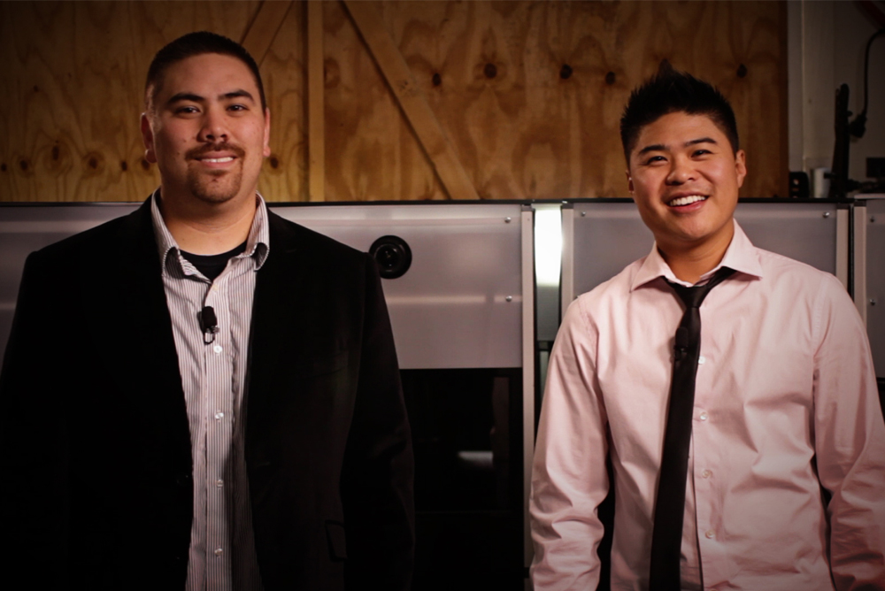 Co-Founders Tom Kanemoto and Lance Yabut Headshots