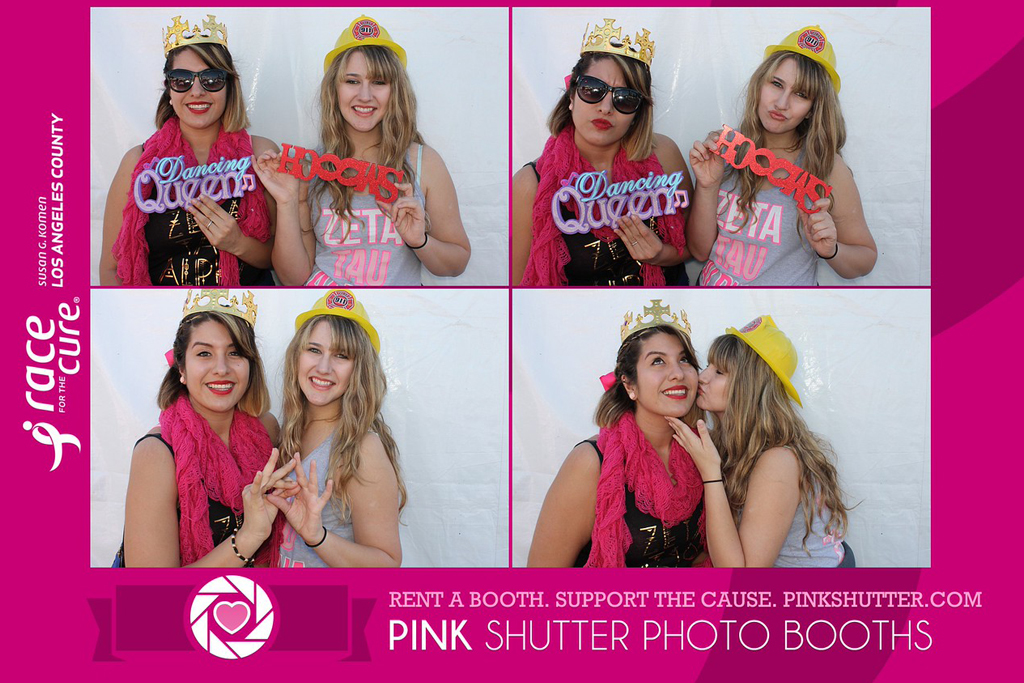 Custom Photo Booth Prints Donated to Fight Breast Cancer