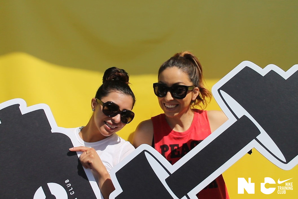 Refinery 29 and NTC Hosted an Open Photo Booth at their Fitness Event