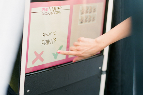 Photo Booths include Touchscreen Live View before taking each photo