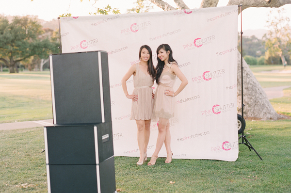 Pink Shutter Photo Booths | Red Carpet Background