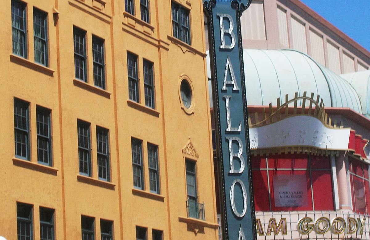 Historic Balboa Theater in Downtown San Diego