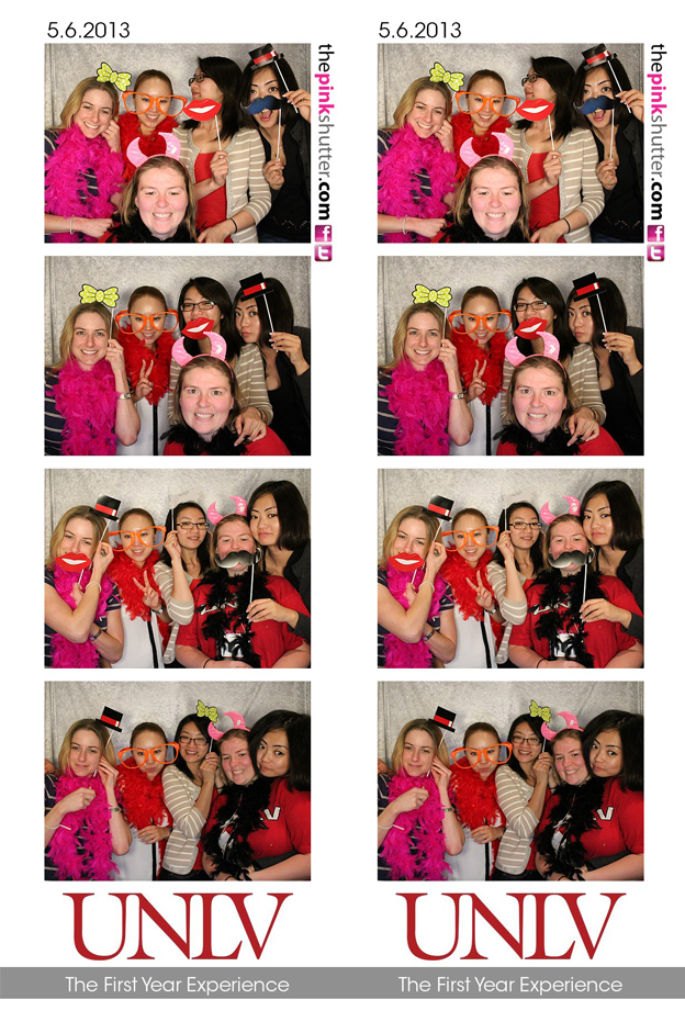 UNLV - The First Year Experience Photo Strips