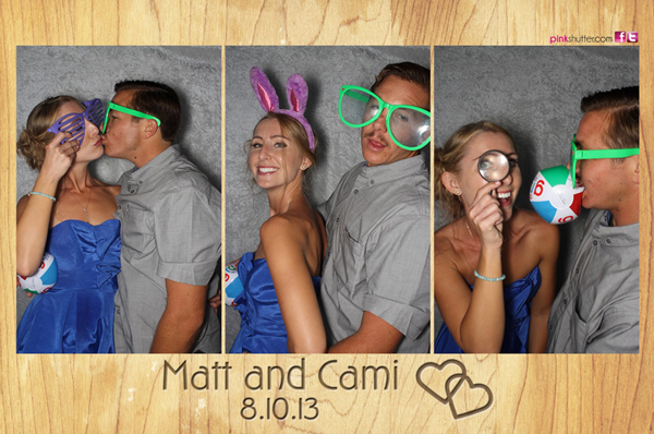 Photo Booth Image from Matt and Cami Wedding | 8.10.2013