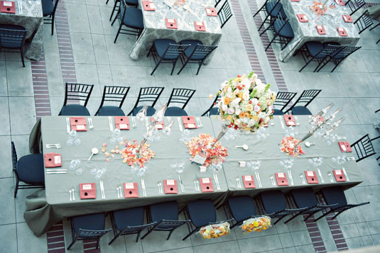 View of Table Settings