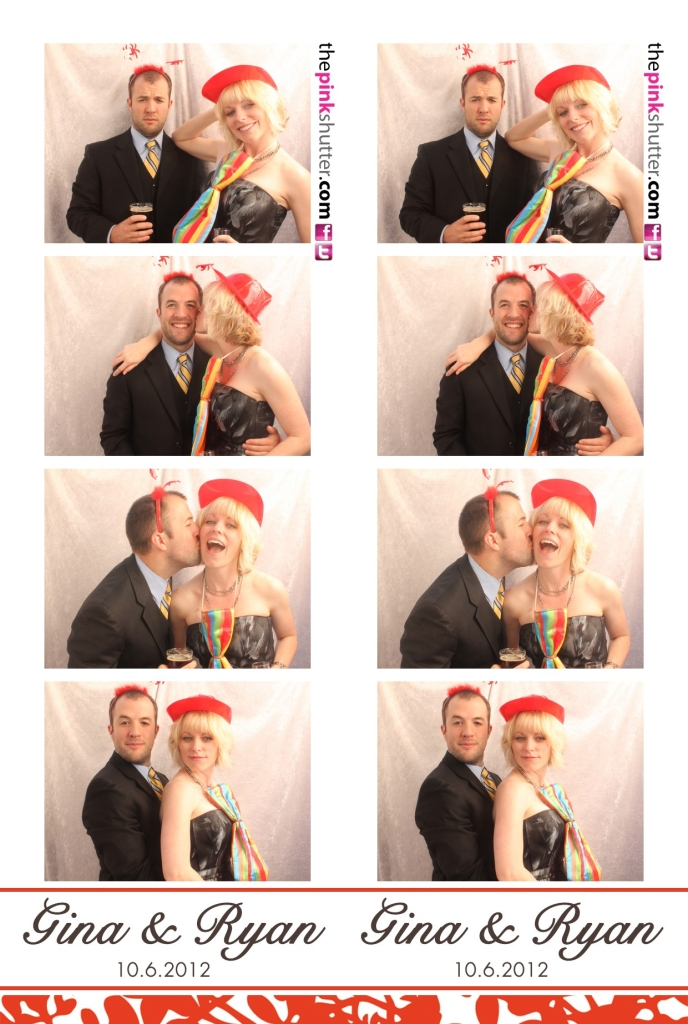 Photo Strip of Wedding Guests