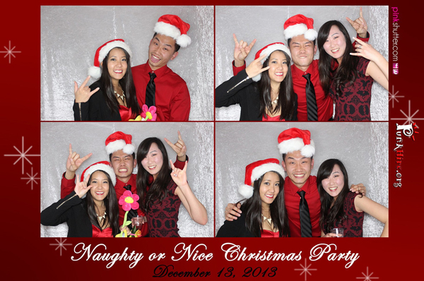 Naughty Or Nice Christmas Party Events Pink Shutter