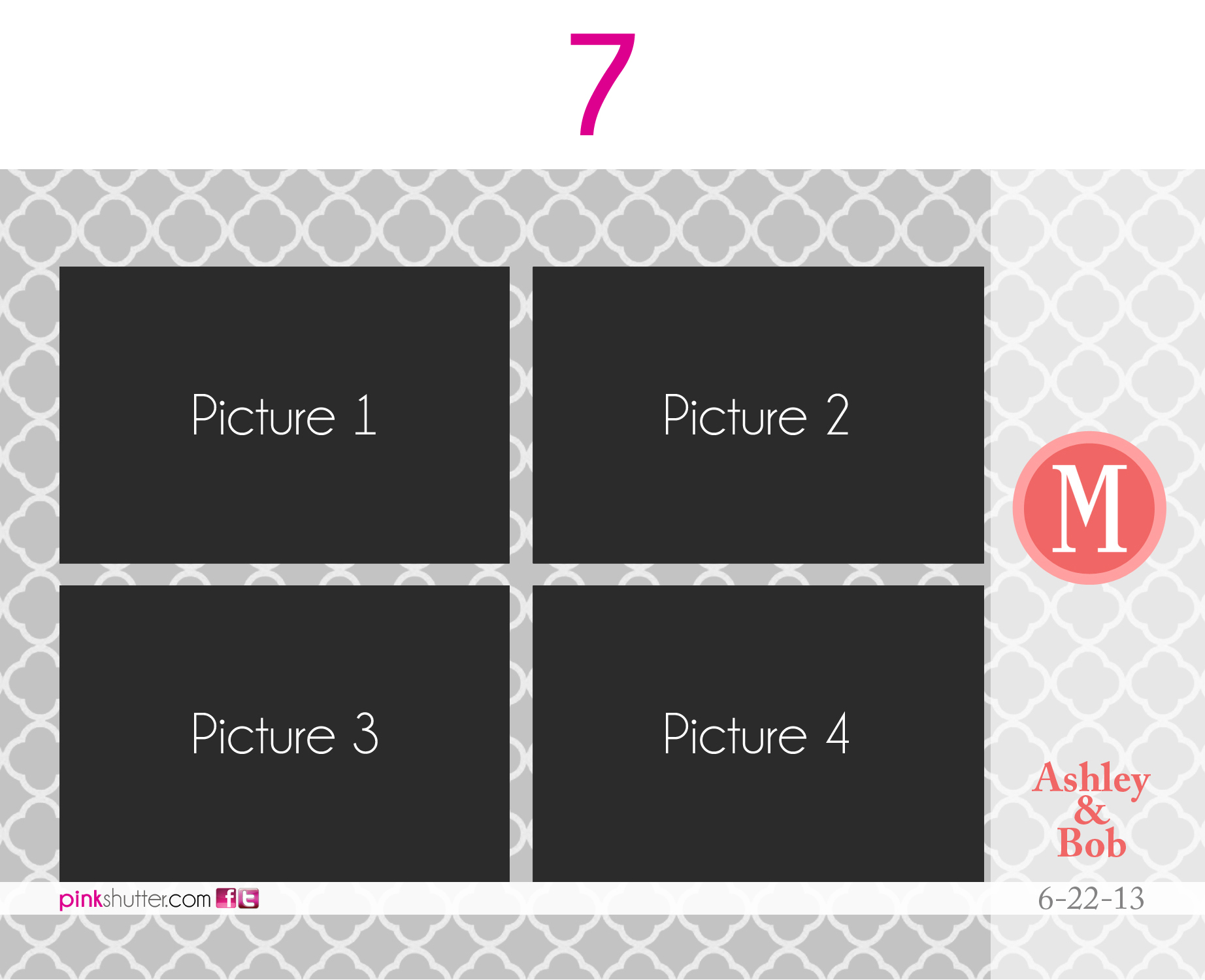 Photo Prints And Strips Options Pink Shutter