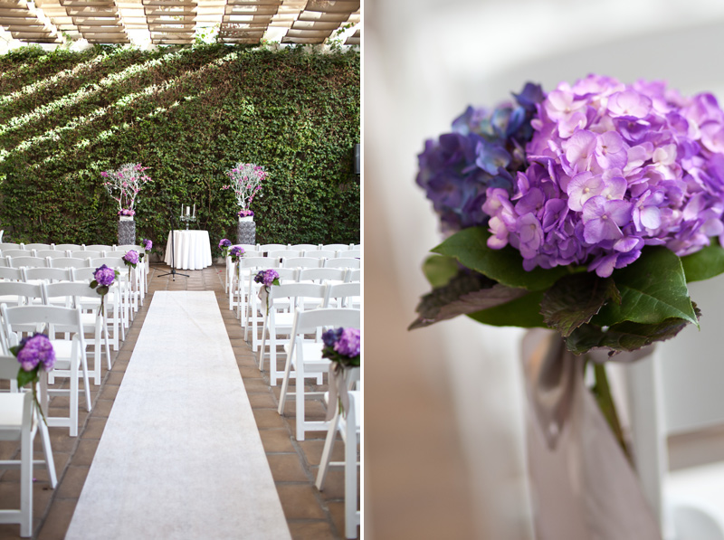 Views of the Aisle and Florals