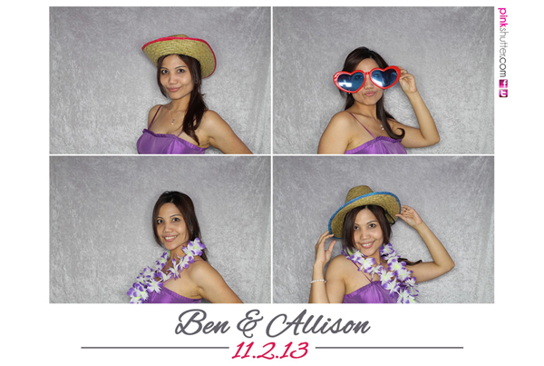 Photo Booth Image from Allison and Ben Wedding | 11.02.2013