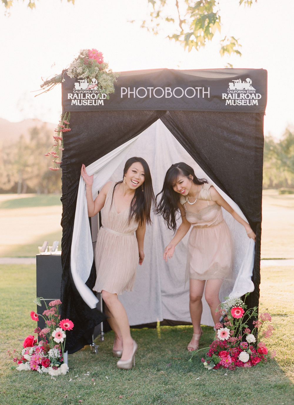 Photo Booth Banner with Company Logo