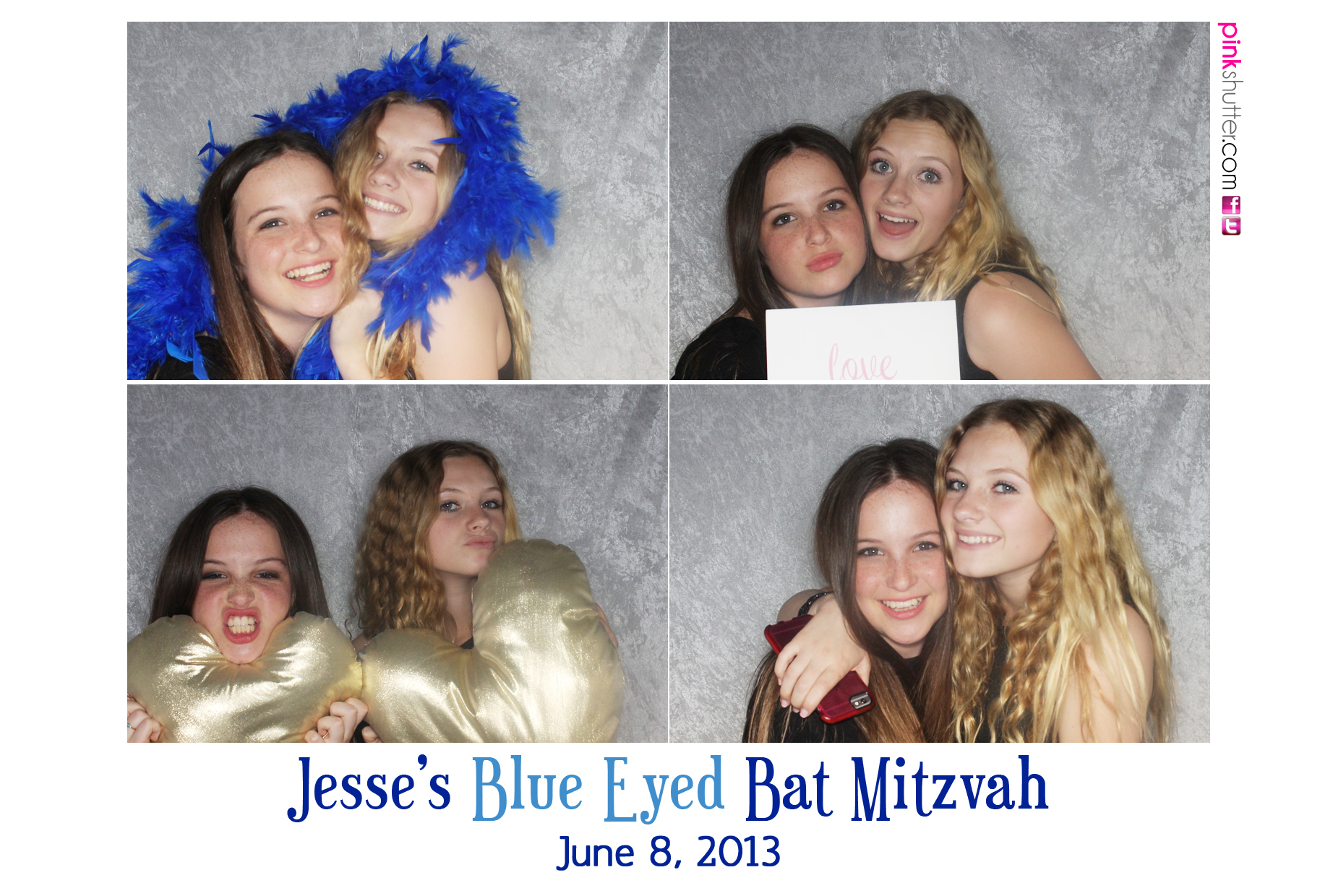 Jesse's Blue Eyed Bat Mitzvah | June 8, 2013