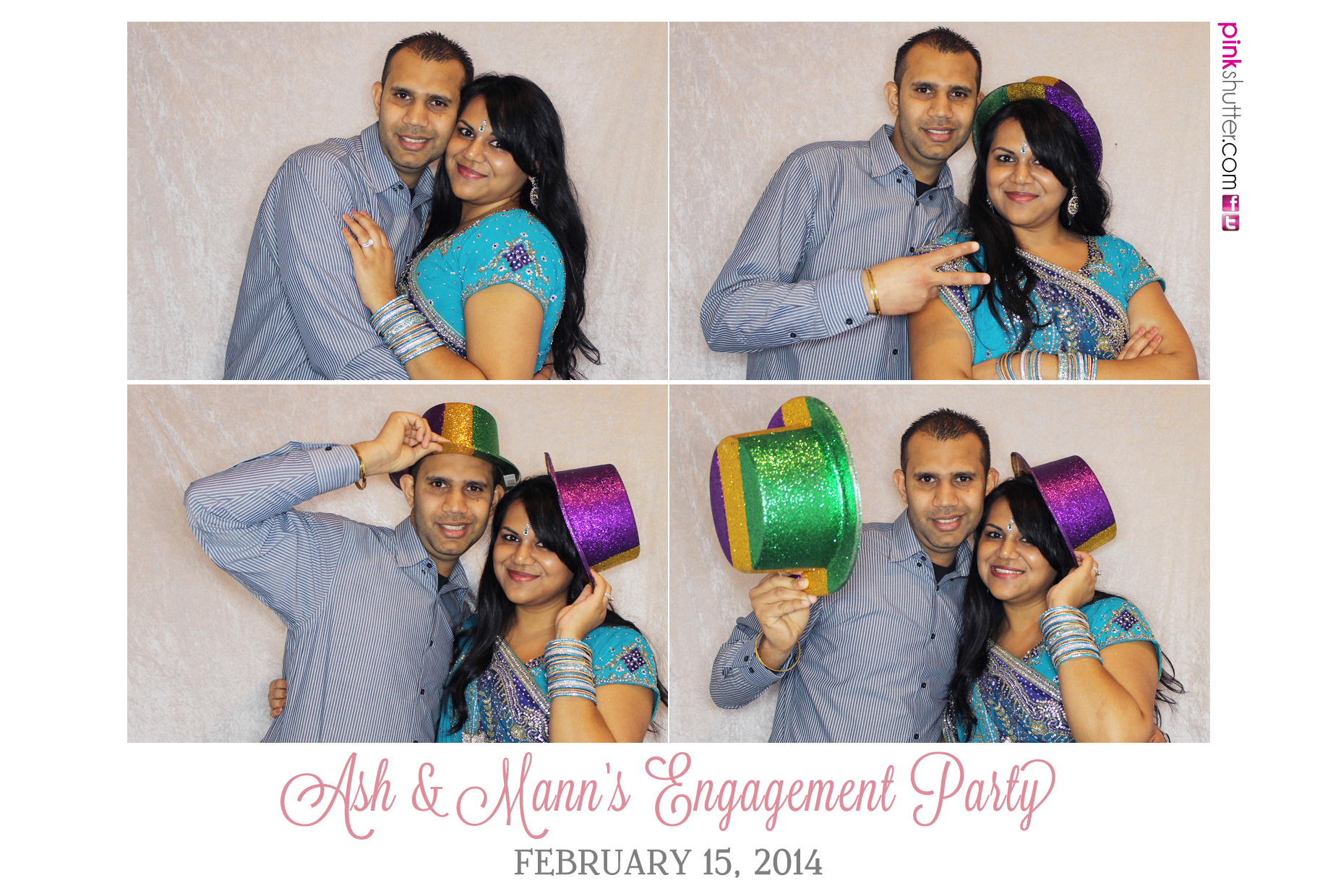Example of Engagement Party Name Customization