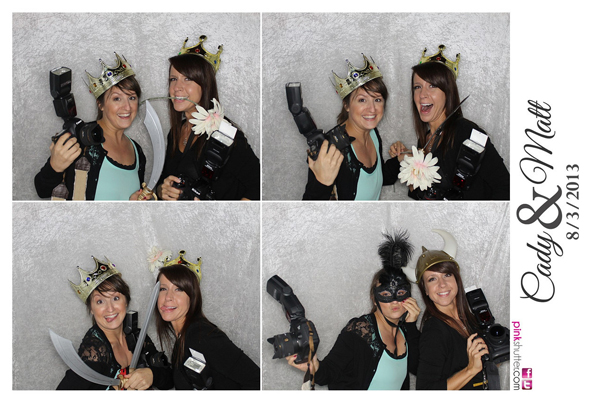 Photo Booth Image from Cady and Matt Wedding | 8.3.2013