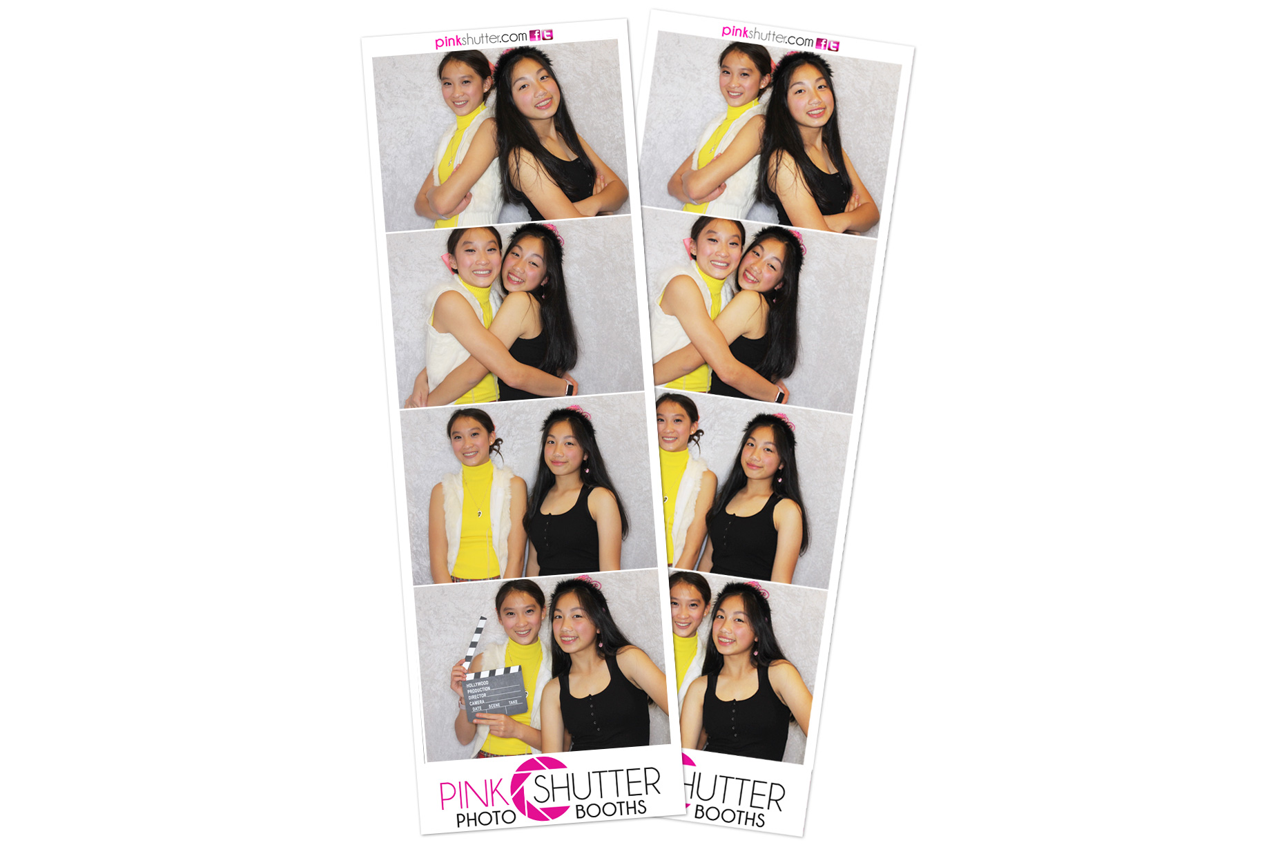 Traditional Photo Booth Strips