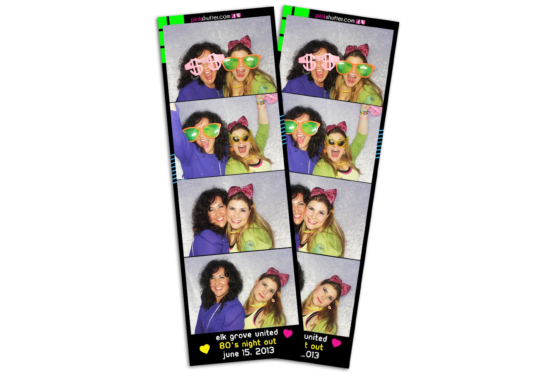 Photo Strips Personalized for School Dance Event