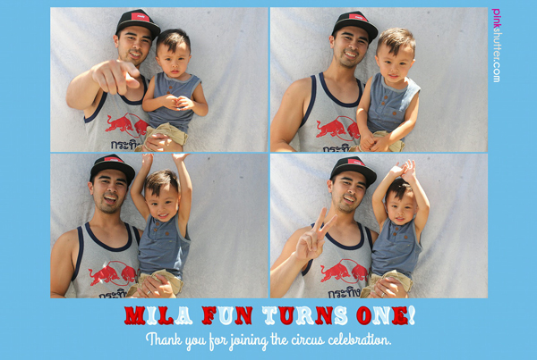 Photo Booth Image from Mila's 1st Birthday | 6.28.2014