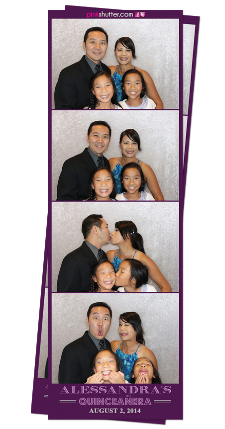 Photo Booth Image From Alessandras Quinceanera 822014