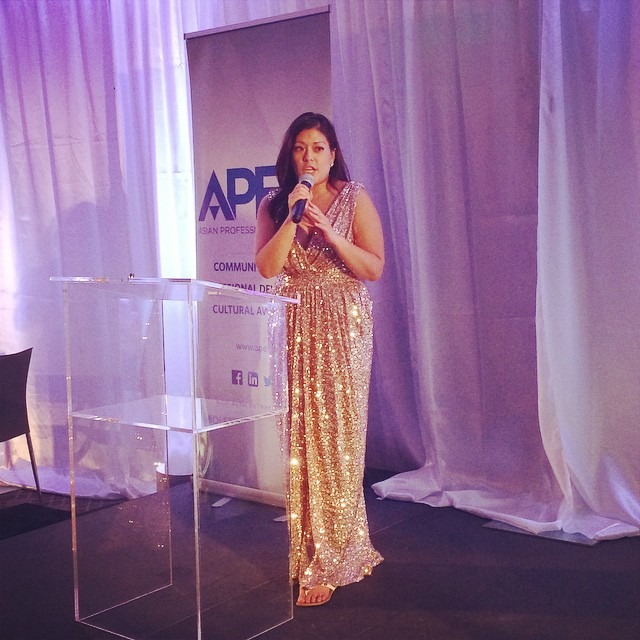 APEX President Talks at the Gala