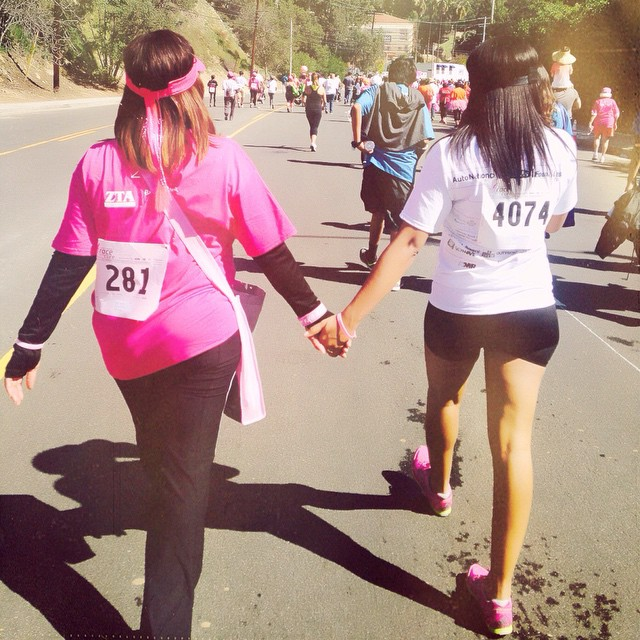 Friends Walk in LA at Race for the Cure