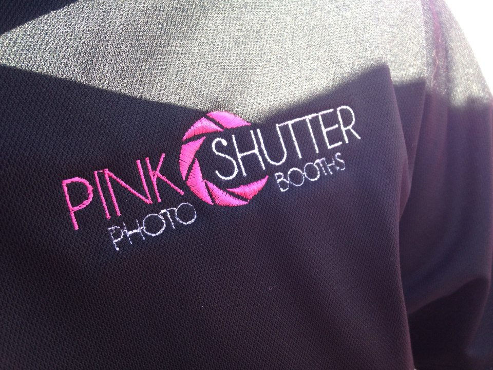 Polo Embroidered with Pink Shutter Logo