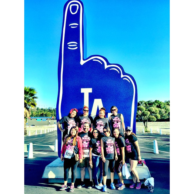 Runners Smile with the Number One Foam Finger