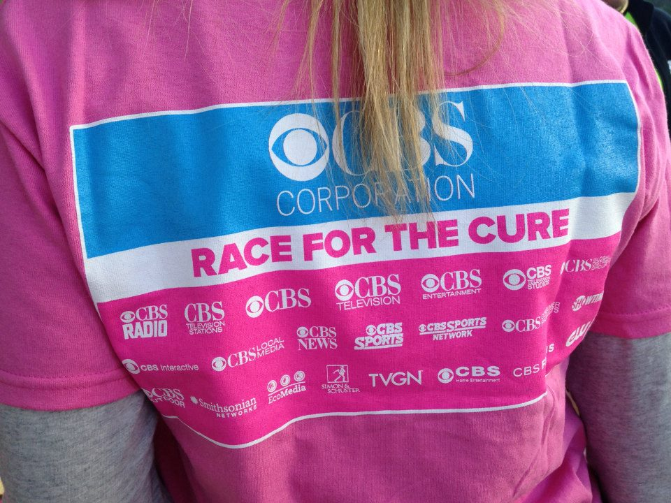 CBS Covers Race for the Cure Event