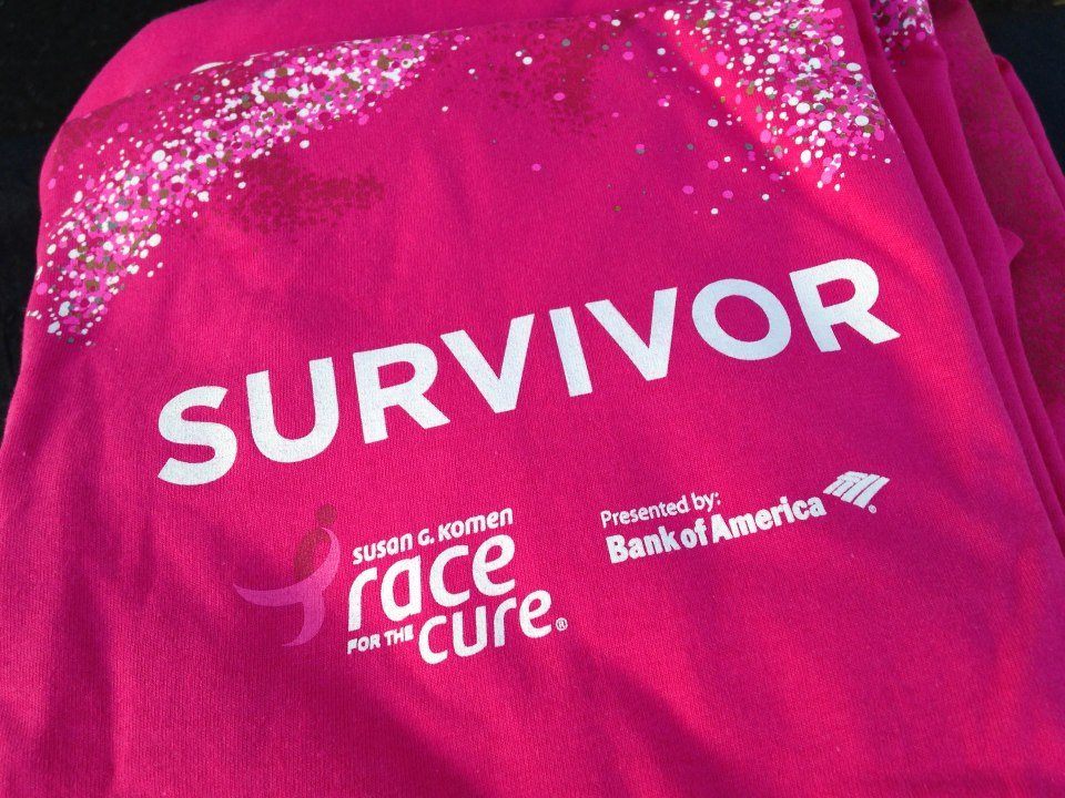 Race for the Cure Survivor T-Shirt in Pink