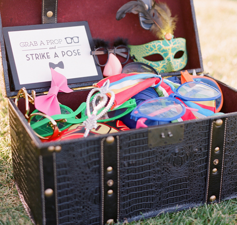 Masks, Glasses and More Fill a Props Box