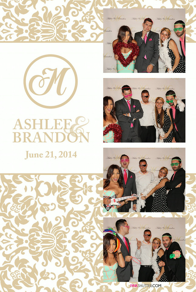 Photo Booth Image from Ashlee and Brandon's Wedding | 6.21.2014