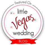 Featured on Little Vegas Wedding Blog