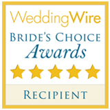 Wedding Wire Bride's Choice Awareds Recipient
