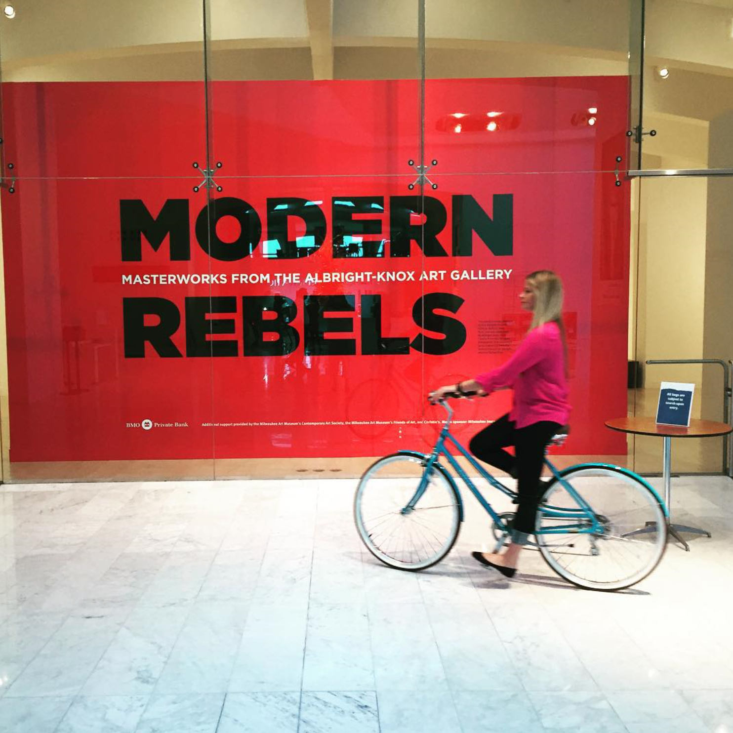 Modern Rebels Art Show at Milwaukee Art Museum
