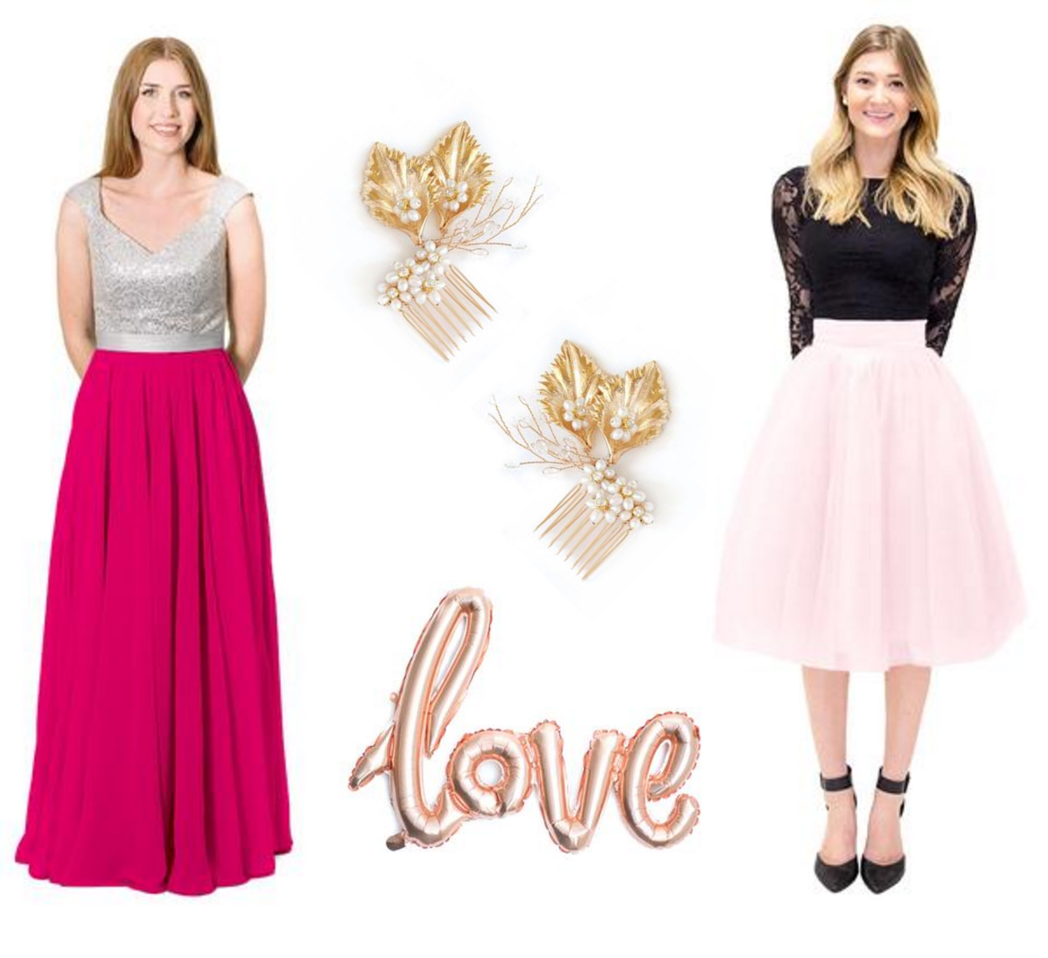 Bridesmaid Clothes and Accessories