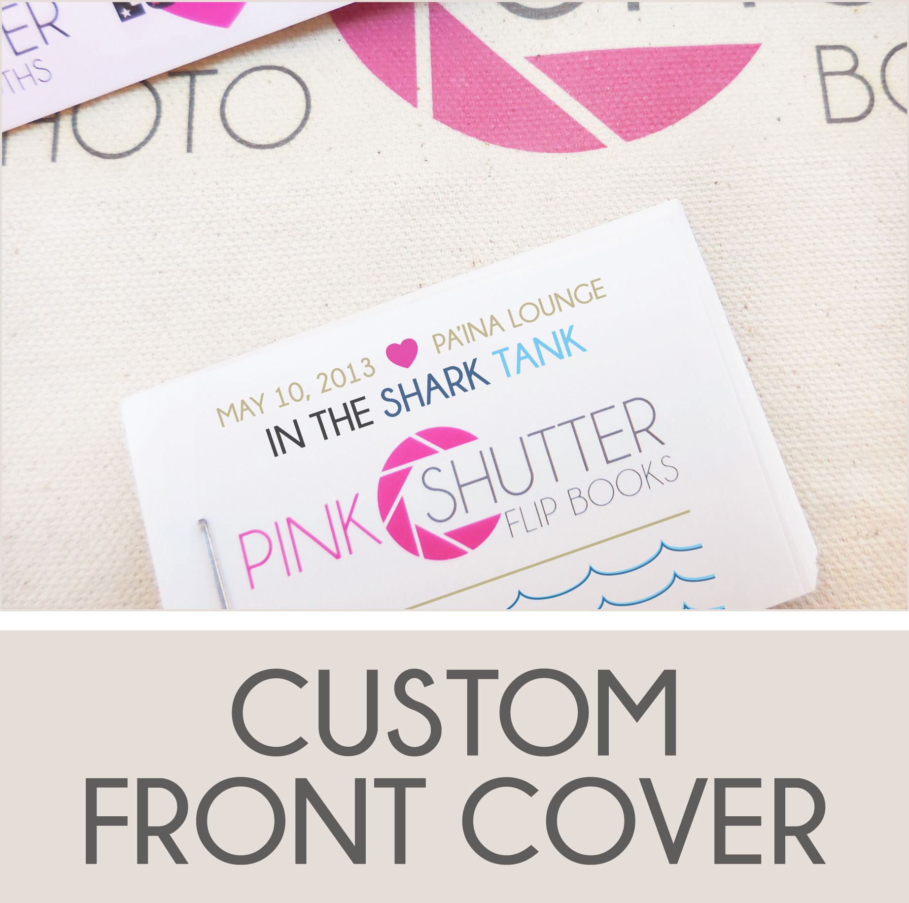 Match Your Flip Book Cover to Your Event Color, Theme, Style