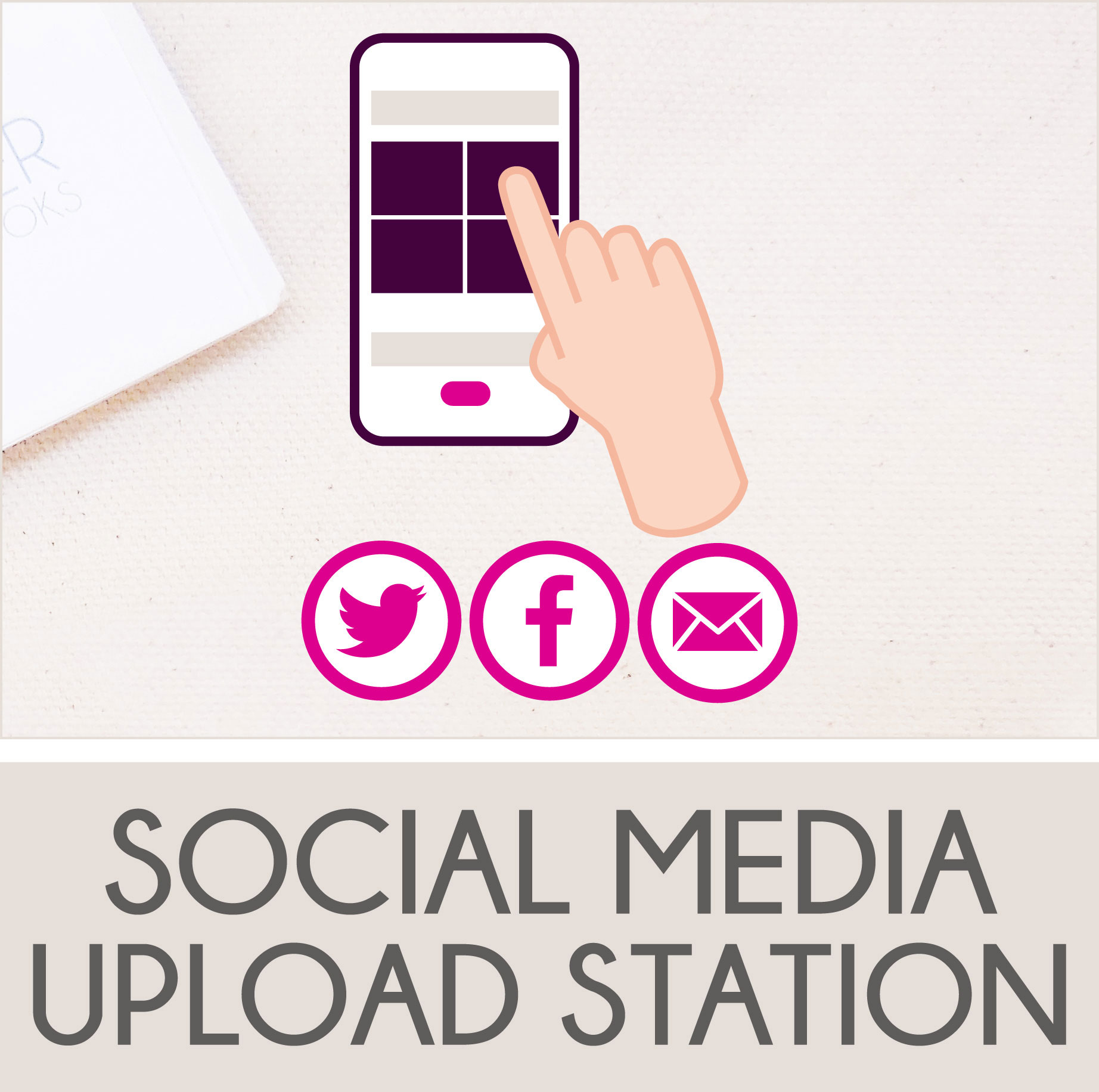 Upload Photos to Facebook and Twitter